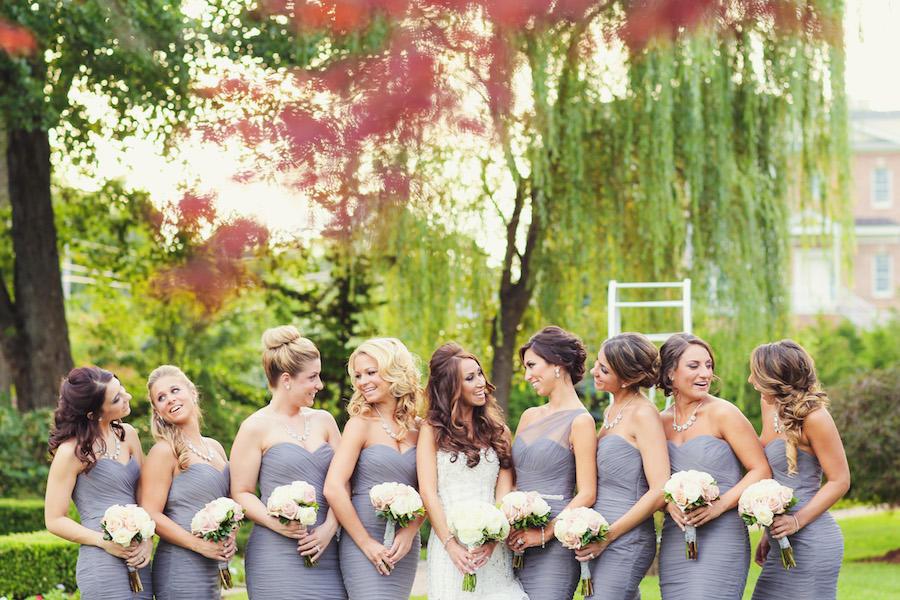 bridesmaids wedding image