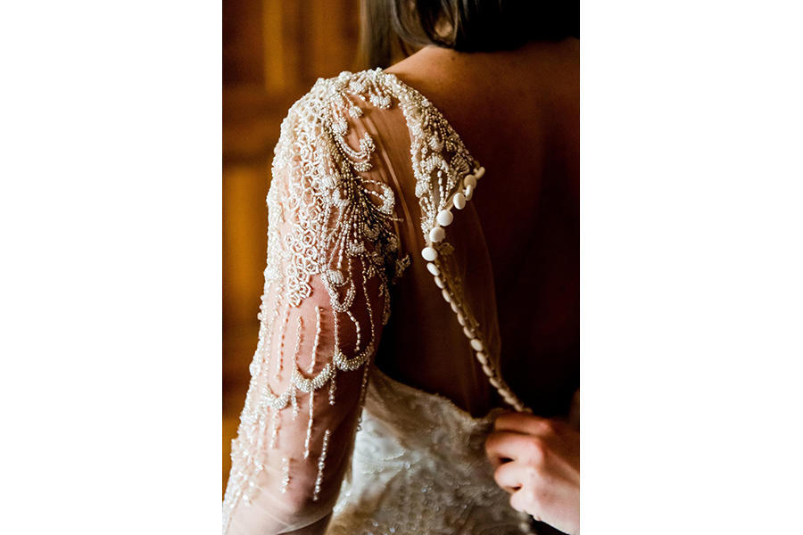 wedding photography dress details