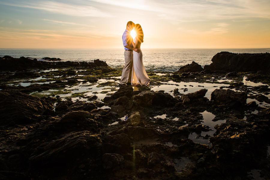 wedding photography sunburst