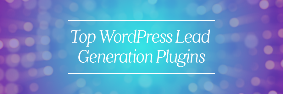 wordpress lead generation