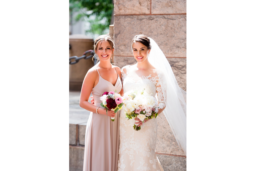 wedding photography lighting bride