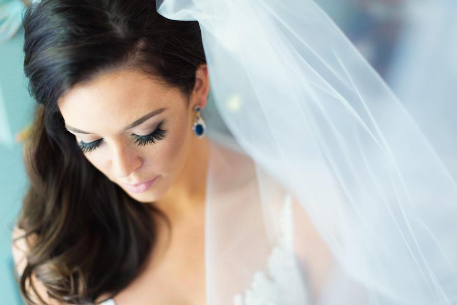 wedding veil bridal portraits