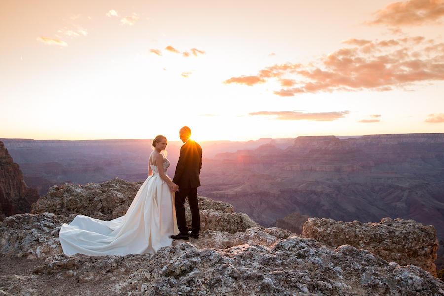 couple portraits landscape photography