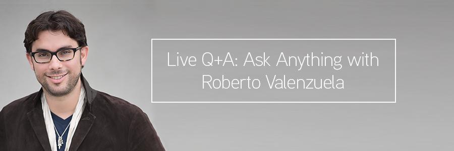 ask anything with wedding photographer roberto valenzuela