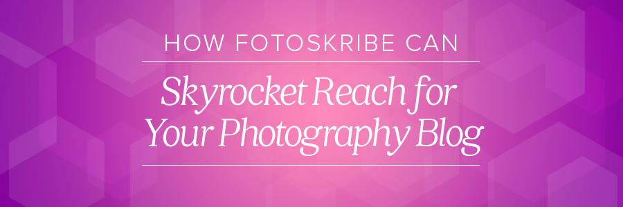 skyrocket reach for your photography blog