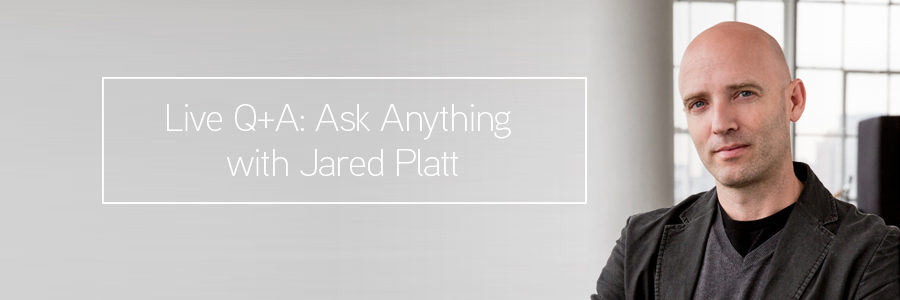 Ask Anything: Live Q+A with Wedding Photographer Jared Platt