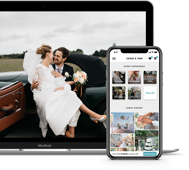 Extra: Wedding Photographer Online Gallery Hosting and Print