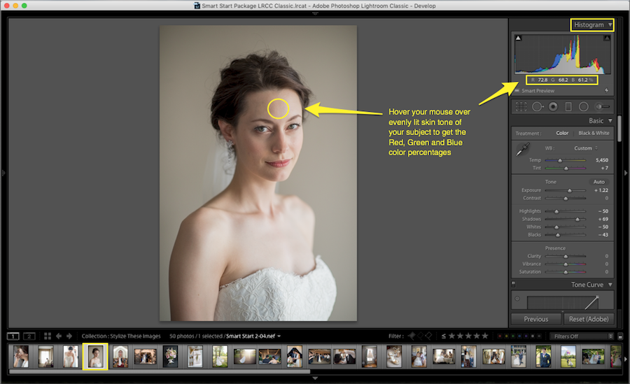 using retouching tools lightroom