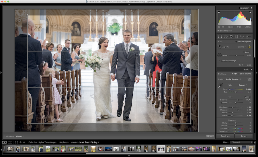cropping image lightroom