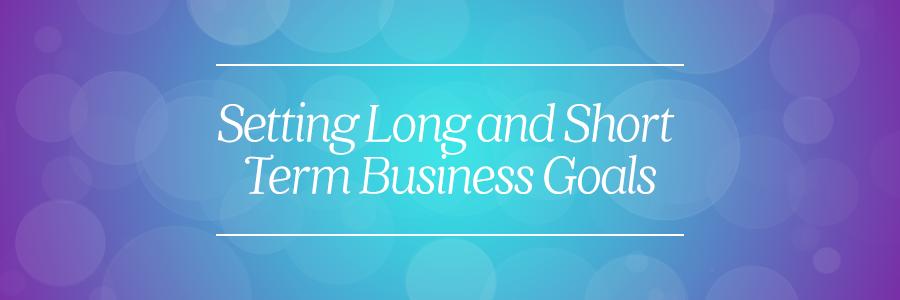 short term business goals