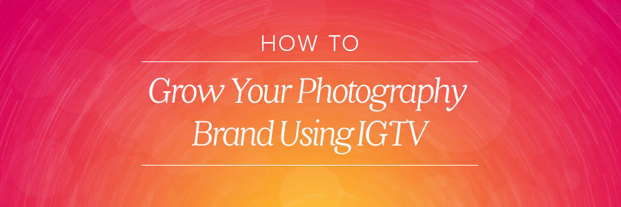 Graphic displaying how to use IGTV
