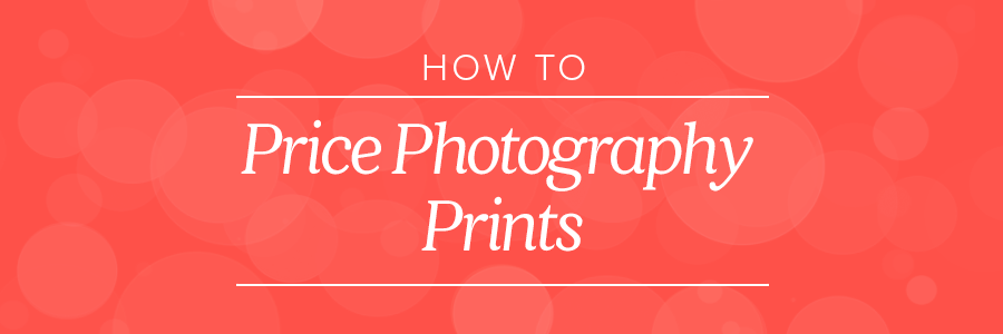 Graphic displaying how to price photography prints