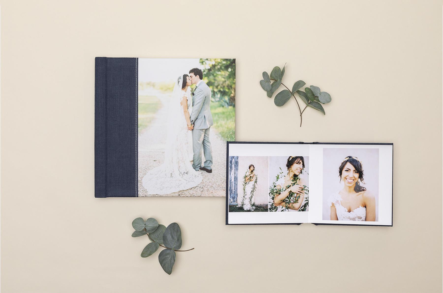 WHCC Album with bridal photos