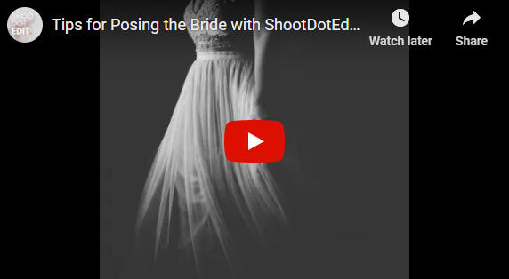 posing tips for the bride video link