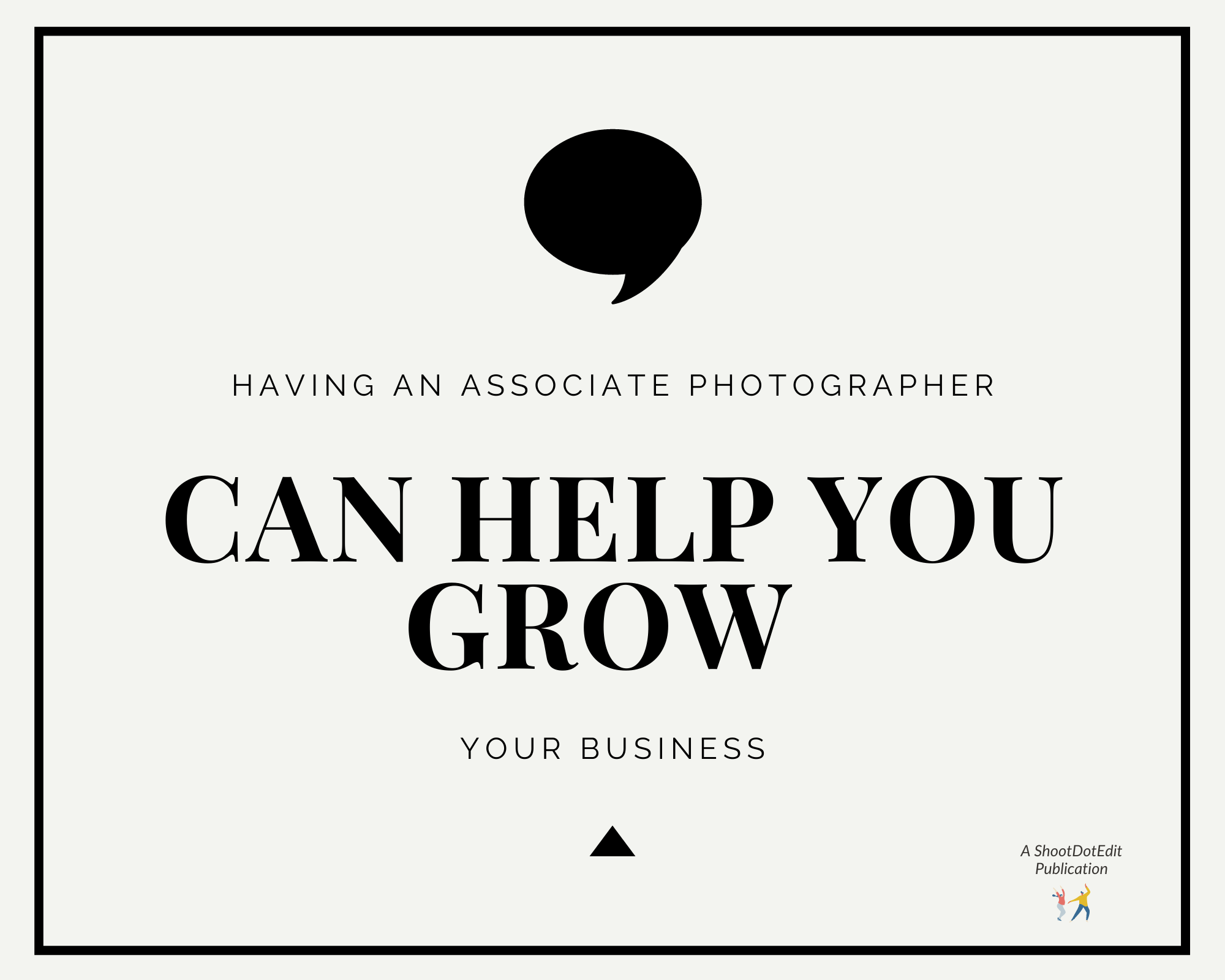 Infographic - Having a second photographer can help you grow your business